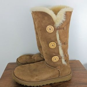 UGG | Bailey's Button Triplet Sheepskin Boots